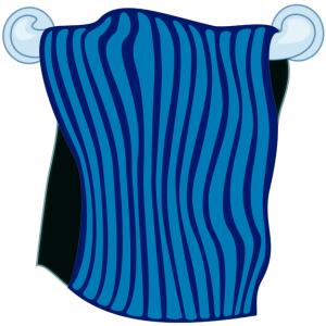towel_on_rack_blue