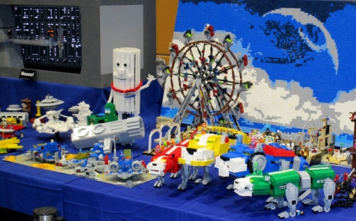 And LEGO creations.