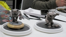 I can not remember who sculpted these, but that one of the left is pretty great.
