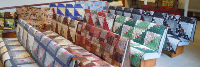 Quilts-benches